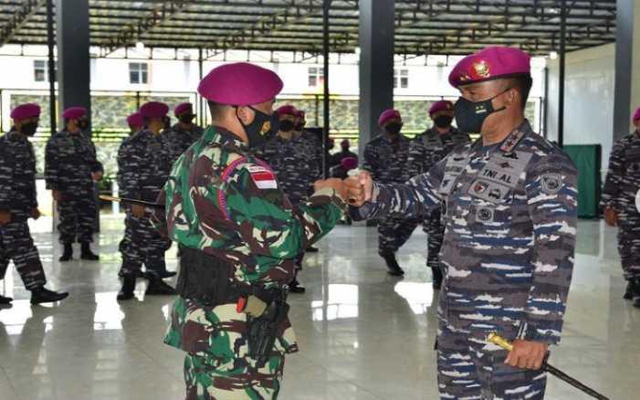 12 Personel Pasukan Intai Amfibi Tiba di Tanah Air, Disambut Langsung Jenderal Nomor Satu Marinir