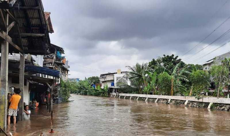 200 RT  di Jakarta Terendam  Banjir