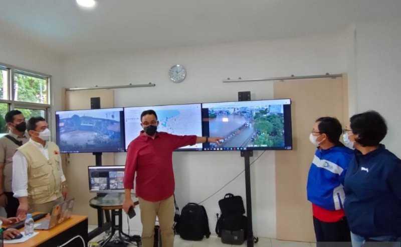 Anies: Curah Hujan Ekstrem Penyebab  Jakarta Banjir