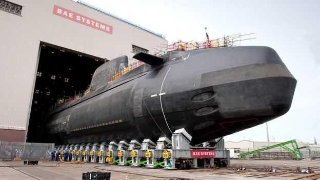 Anson, Kapal Selam Nuklir Terbaru Milik Angkatan Laut Inggris
