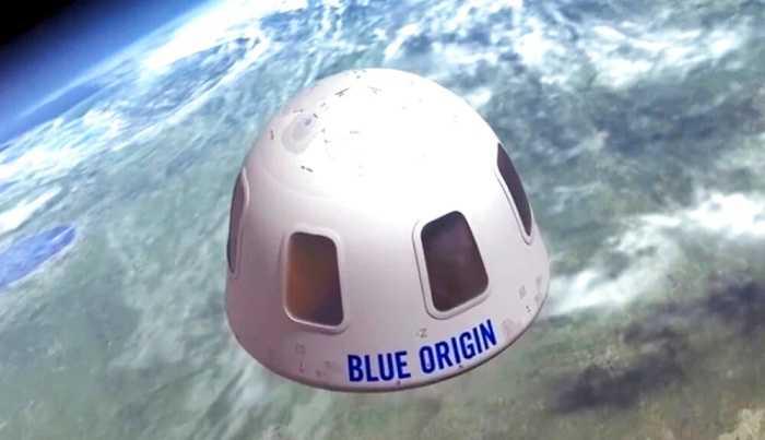 AS Setujui Izin Perjalanan Antariksa untuk Blue Origin