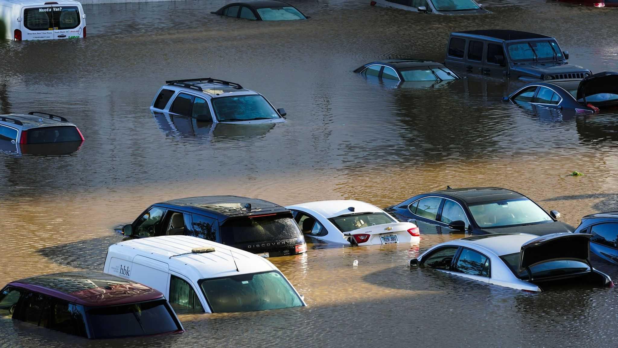 Badai Ida Mengkhawatirkan AS, Total Korban Tewas Menjadi 41 Orang