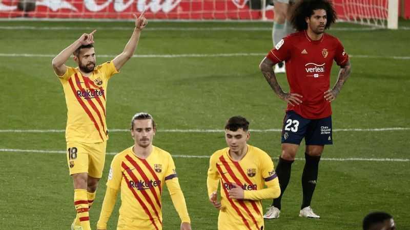 Barcelona Dekati Atletico di Puncak