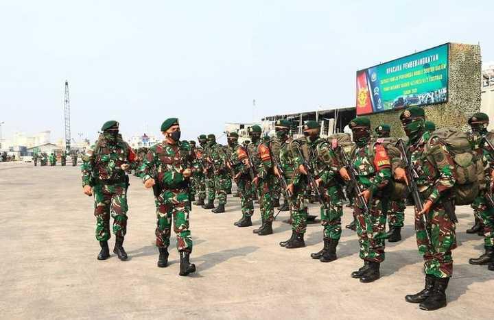 Berangus KKB, 450 Prajurit Batalyon Mekanis Raider 412 Kostrad Diberangkatkan ke Papua