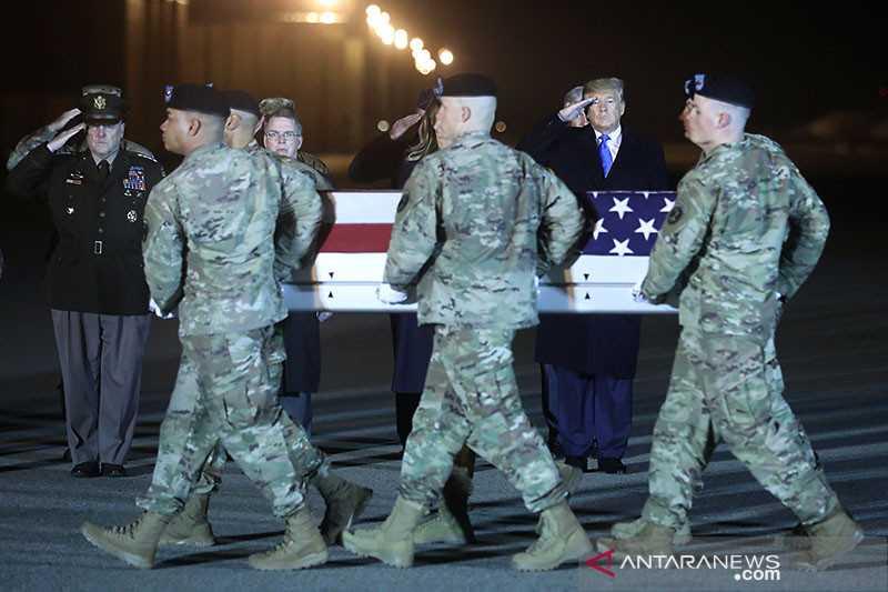 Berita Duka Semoga Tidak Makin Memanas, Anggota Maninir Amerika yang Tewas di Afganistan Dipulangkan