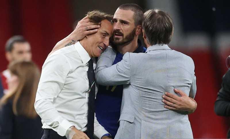 Bonucci : Mancini Telah Obati Kekecewaan Italia di Piala Dunia 2018