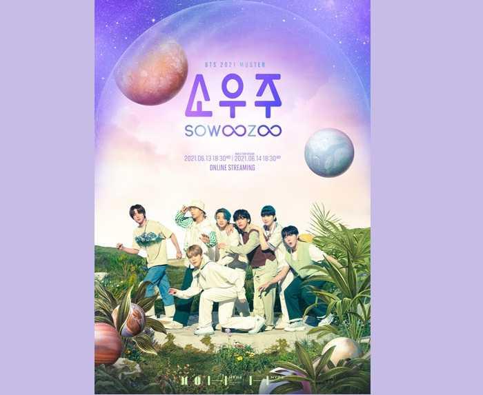 BTS Gelar Fan Meeting Virtual pada 13-14 Juni Mendatang