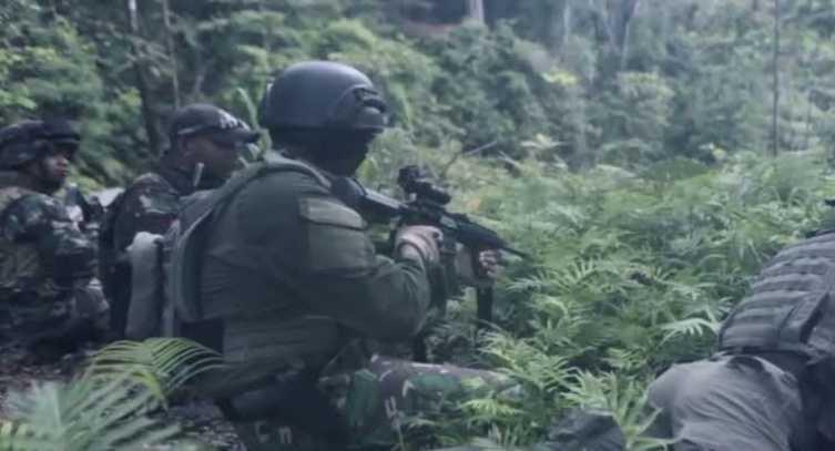 Di Keremangan Pagi, Pasukan TNI Bikin Kocar Kacir KKB Pimpinan Goliat Tabuni