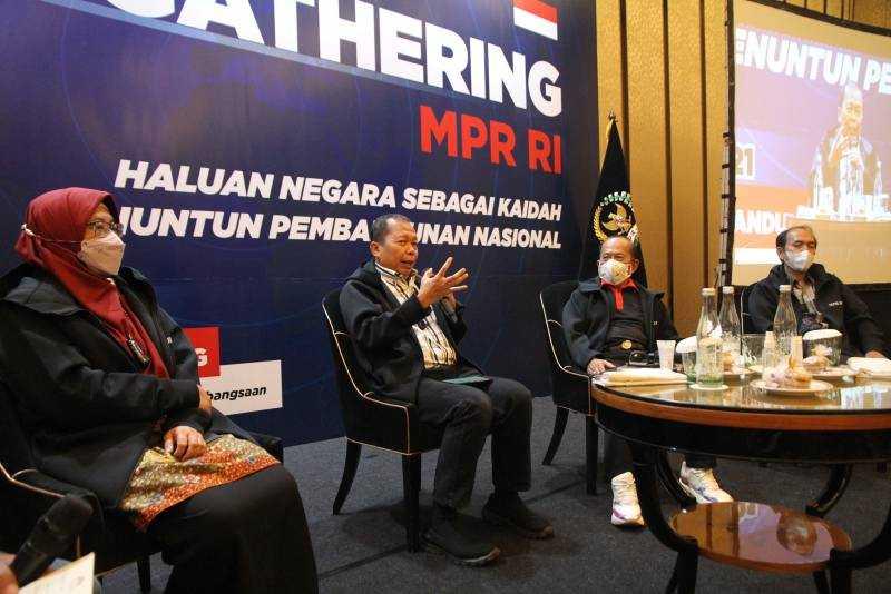 Diskusi Press Gathering MPR