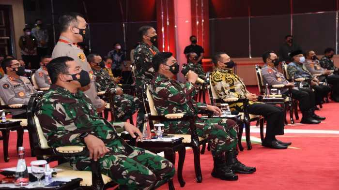 Dua Jenderal Bintang Empat dan Sejumlah Jenderal Kompak Datang ke Acara yang Juga Dihadiri Kiai Berpengaruh NU
