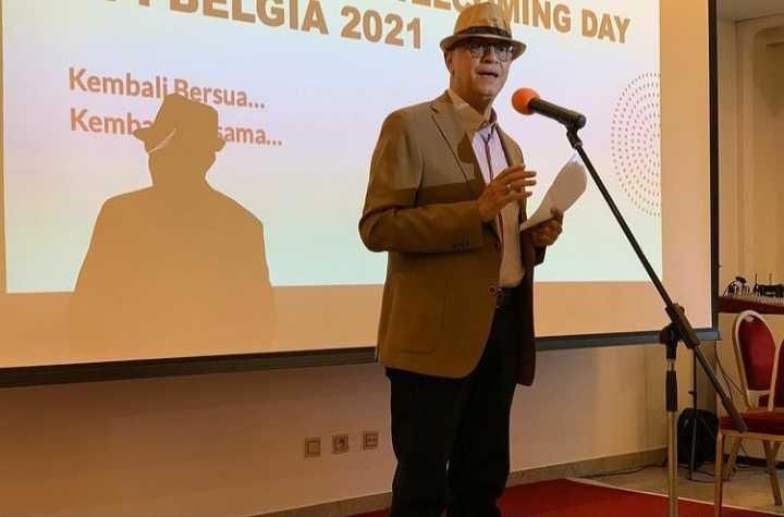 Dubes Andri Hadi Ajak Mahasiswa Indonesia di Belgia Sinergis untuk Diplomasi