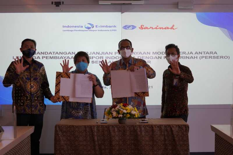 Dukung UMKM Go Global, LPEI danai Rp50 Miliar ke PT Sarinah