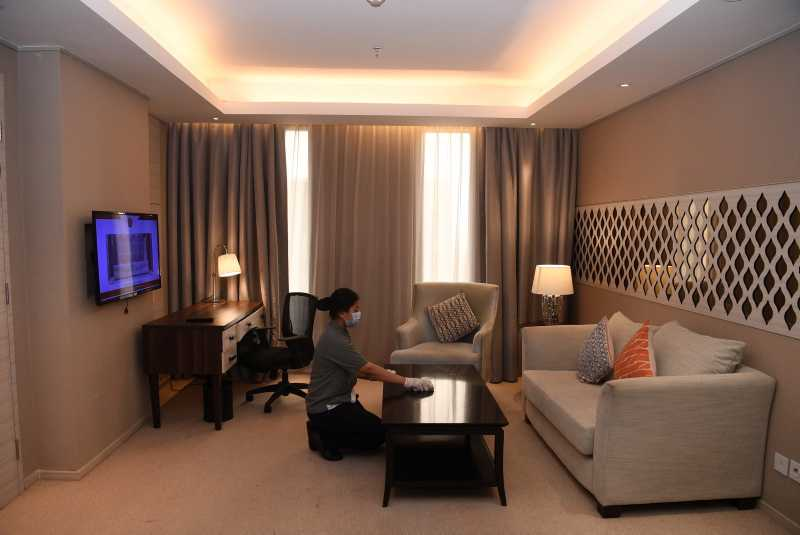Evaluasi Hotel Tempat Karantina