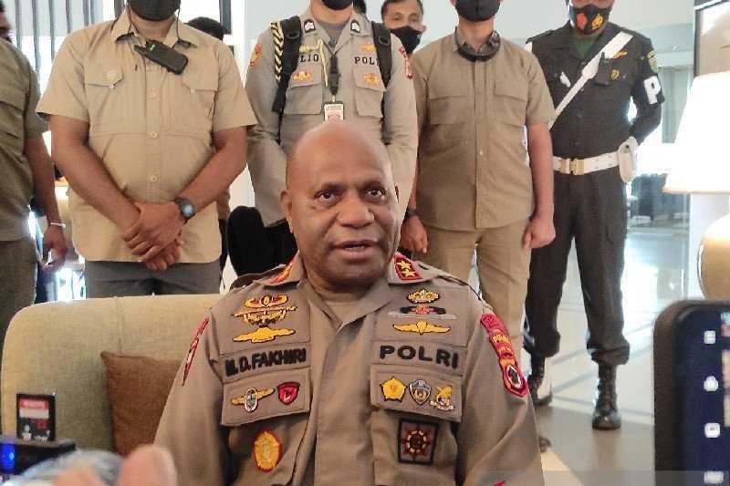 Gawat, Jenderal Bintang Dua Ini Sebut Satu Polisi Gugur saat OTK Serang Polsubsektor Oksamol Papua