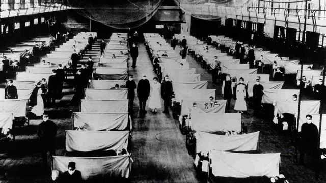 Gawat, Jumlah Kematian Akibat Covid-19 di AS Menyamakan Pandemi Flu Spanyol