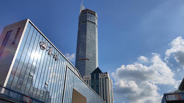 Gedung Pencakar Langit di Kota Shenzhen Bergetar Hingga Picu Kepanikan