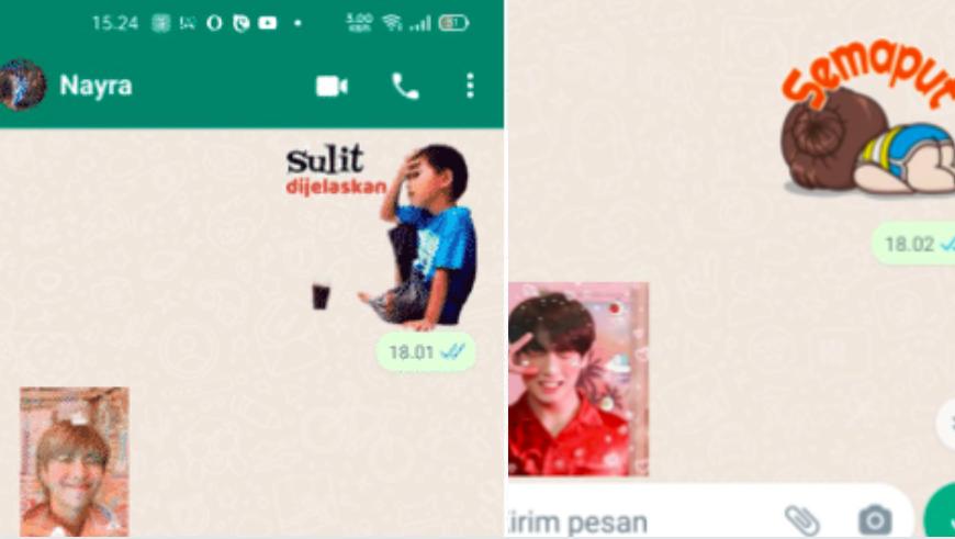 Gemar Bercanda Pakai Stiker di Chat? Simak Fitur Terbaru WhatsApp, Bim Salabim Foto Langsung Bisa Berubah