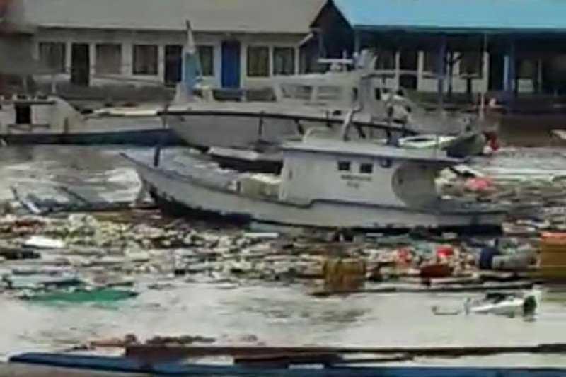 HNSI Kupang Laporkan 40 Unit Kapal Nelayan Rusak Diterpa Badai Siklon Tropis Seroja