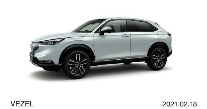 Honda HR-V Versi Hibrida Diluncurkan