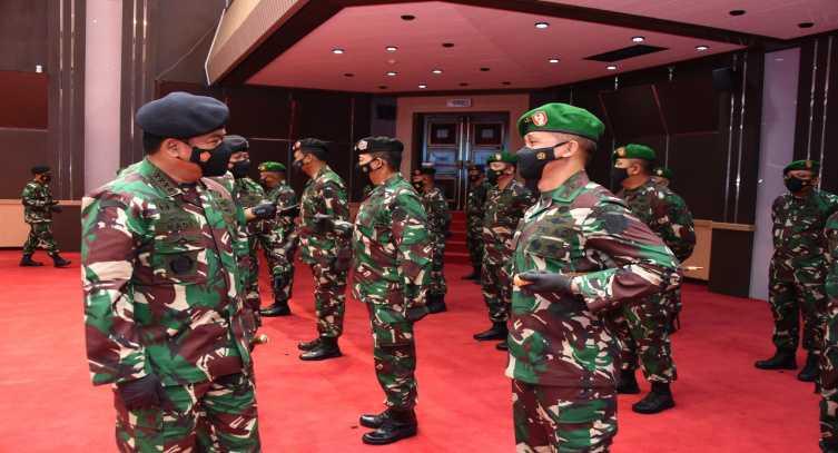 Ini 8 Jenderal Angkatan Darat yang Resmi Menjadi Mayor Jenderal