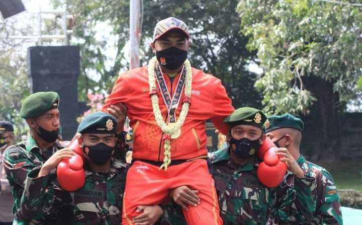 Ini Dia, Prajurit Raider Anak Buah Jenderal Dudung Abdurachman yang Jago Tinju