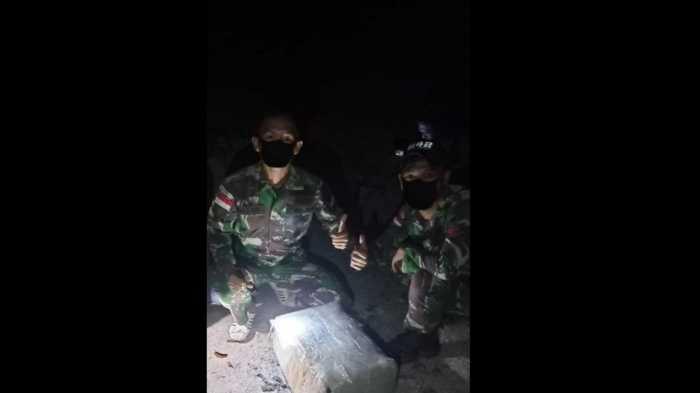 Ini Kronologi Diamankannya 10 Kg Lebih Sabu-sabu oleh Prajurit TNI di Perbatasan Malaysia