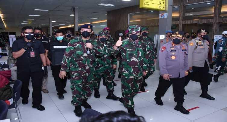 Jalankan Perintah Jokowi, Panglima Pun Nyaris Tak Pernah di Markasnya Lagi