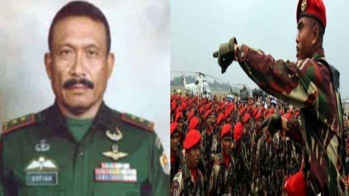 Jenderal Baret Merah Asal Aceh, Mantan Wakil Komandan Jenderal Kopassus