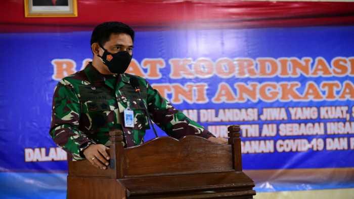 Jenderal Bintang Dua TNI AU Buka Rakor Potensi Dirgantara