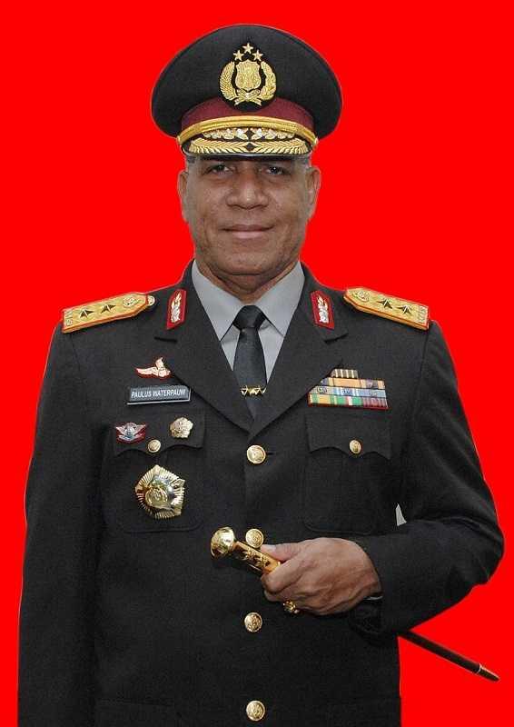 Jenderal Bintang Tiga Asli Papua Ini Dapat Tugas Khusus dari Presiden Jokowi