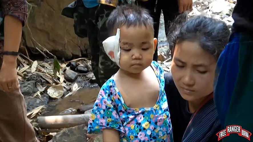 Junta Dikecam Karena Tewasnya Anak-Anak