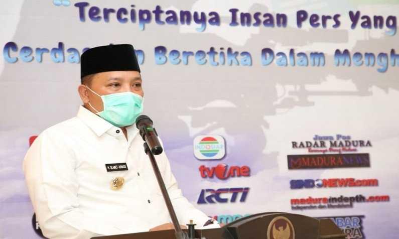 Jurnalis Diminta Tangkal Kabar Bohong Covid-19