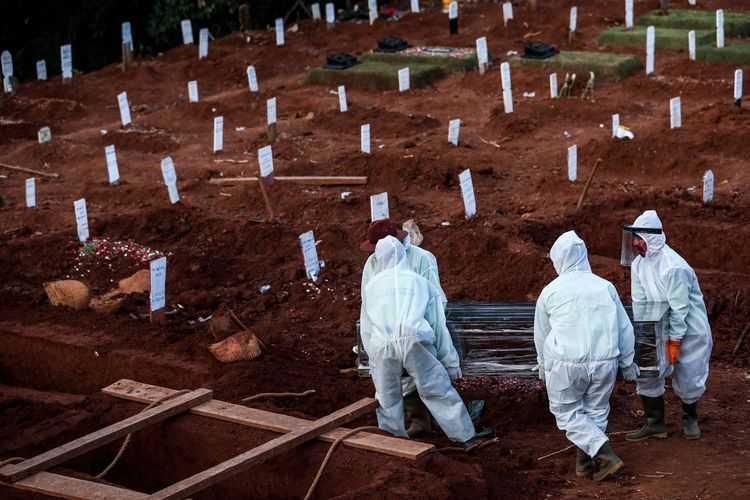 Kabar Penting, Angka Kematian Nasional Akibat Covid-19 Turun 8 Persen dalam Sepekan