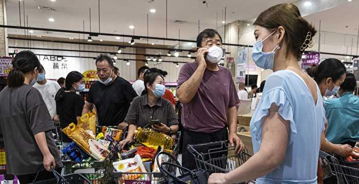 Kacau! Warga Wuhan Punic Buying Setelah Varian Delta Menyerang