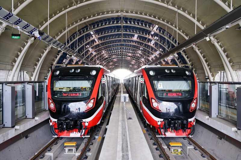 KAI Targetkan LRT Jabodebek Beroperasi pada 2022