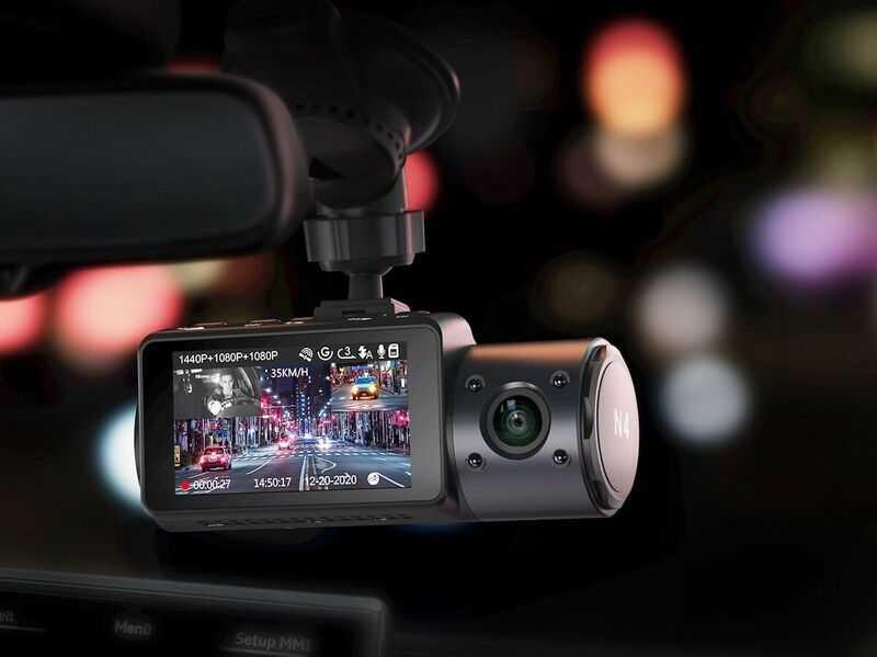 Kamera Dasbor Tiga Kamera dan Night Vision Untuk Perlindungan Menyeluruh