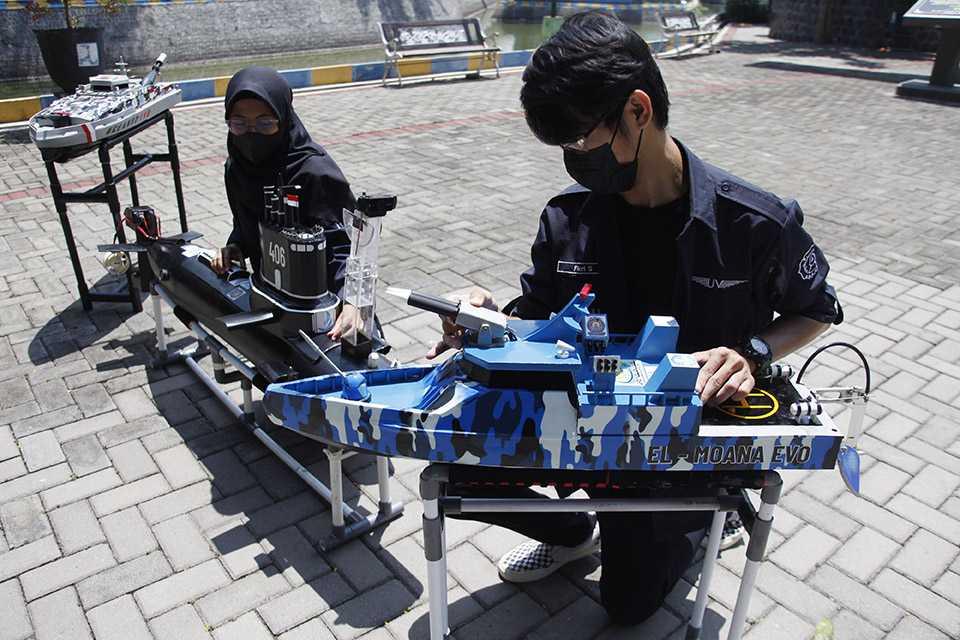 Kapal Robot Jawa Tengah