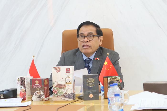 """KBRI Beijing Gelar Temu Bisnis Kopi """"Virtual Indonesian ..."""