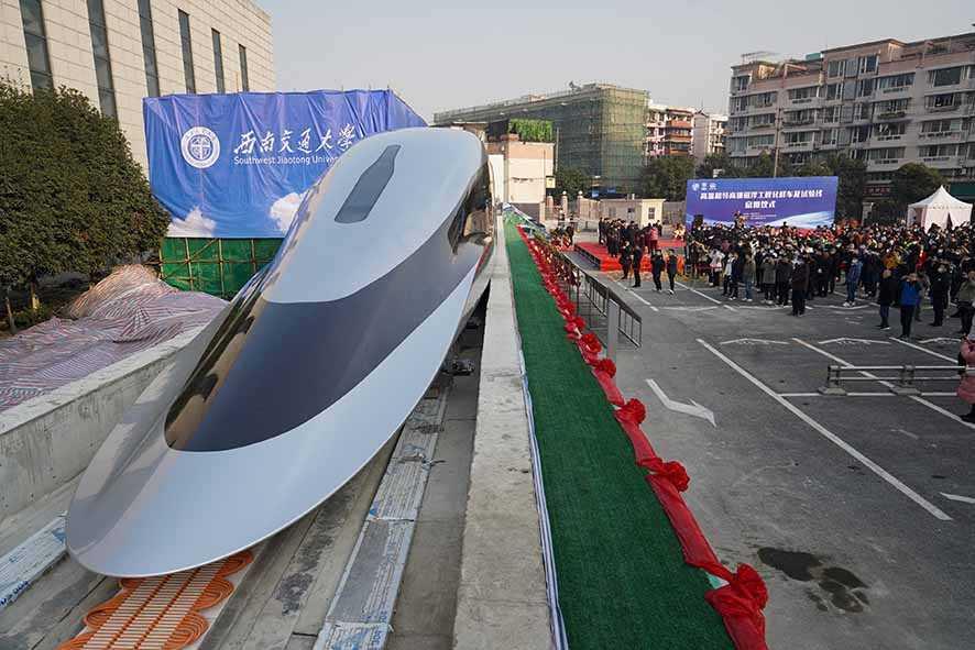 KeretaMaglev Persingkat Perjalanan Jarak Jauh di Tiongkok