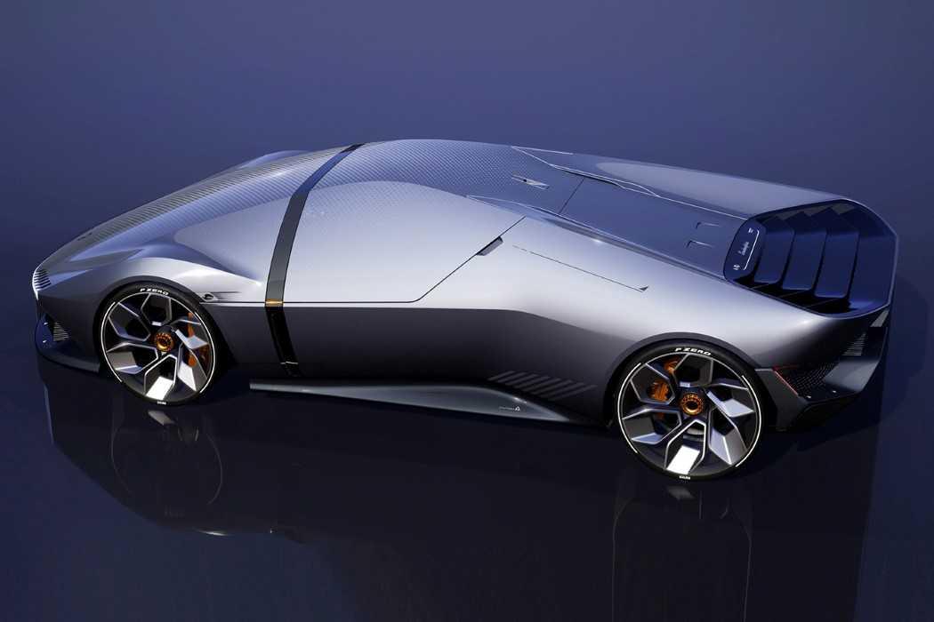 Lamborghini E_X Memiliki Desain yang Modern