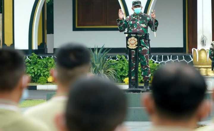 Letjen Kopassus Sebentar Lagi Tinggalkan Markas Kostrad, Ini Pesan Tegasnya untuk Prajurit Cakra