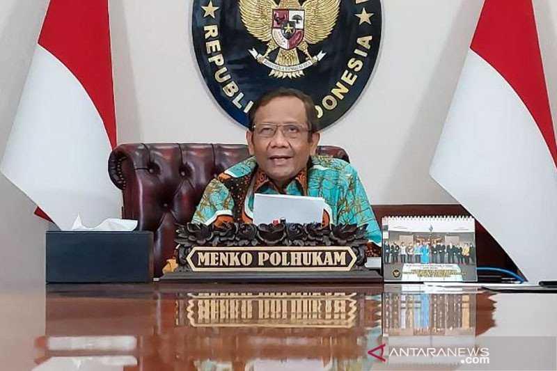 Mahfud MD Sambangi KPK Minta Dokumen terkait BLBI