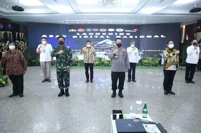 Mantap Sangat Membantu, Panglima TNI Sambut Baik Aplikasi ASAP Digital Sebagai Inovasi Penanganan Karhutla