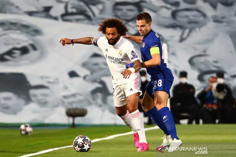 Marcelo Tinggalkan Tugas Pemilu Madrid Demi Leg Kedua Kontra Chelsea