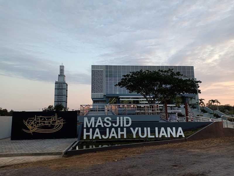 Megahnya Masjid yang Diresmikan Presiden Jokowi yang Jadi Wujud Bakti Anak pada Ibu