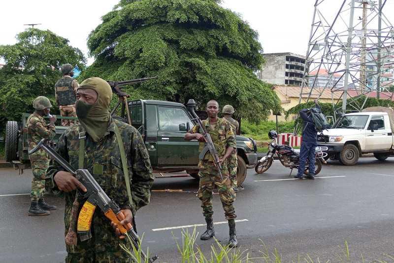 Memanas Semoga Tidak Terjadi Perang Saudara, Junta Militer Tidak Izinkan Conde Tinggalkan Guinea