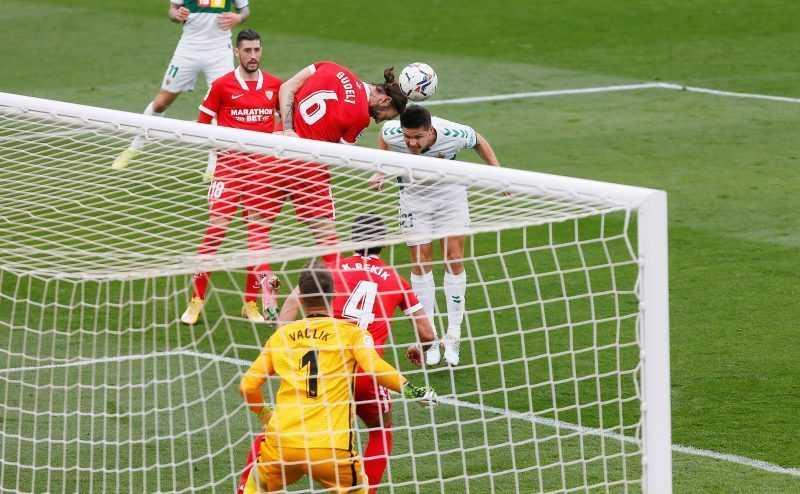 Mengejutkan, Sevilla Tumbang 1-2 di Markas Elche