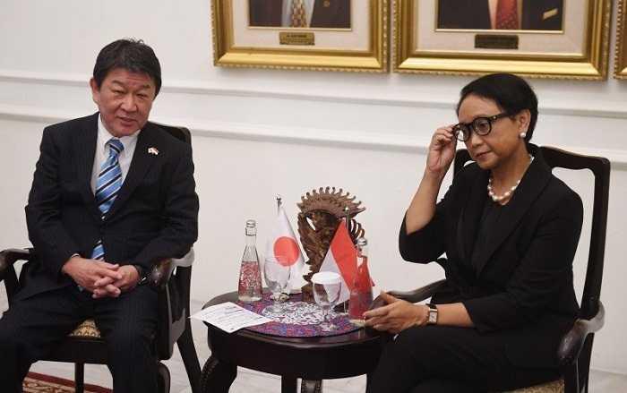 Menlu RI dan Jepang Bahas Situasi di Myanmar Melalui Telepon