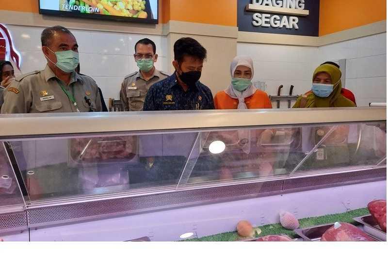 Mentan Jamin Pasokan Daging Selama Ramadhan Aman