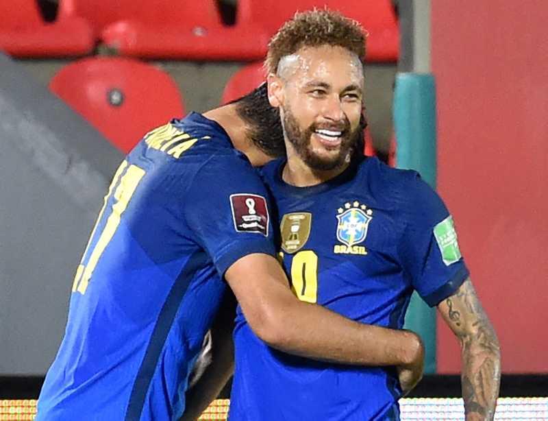 Neymar Pimpin Brasil di  Copa America